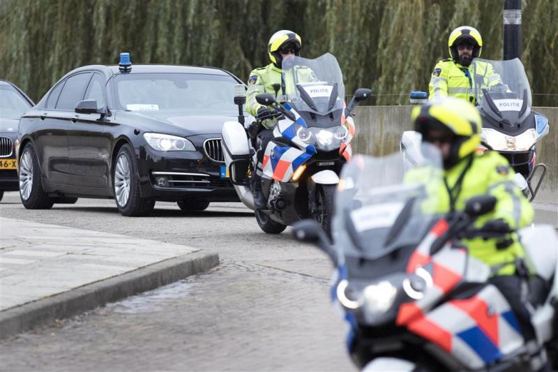 Verkeerschaos Maastricht door bezoek Merkel
