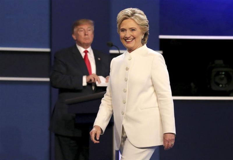 CNN: kiezers zien Clinton als winnaar debat