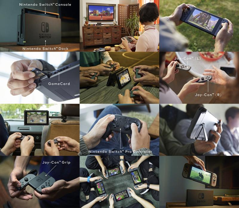 Overview Nintendo Switch