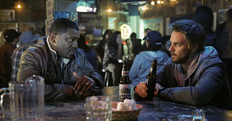 Frequency: Mekhi Phifer en Riley Smith