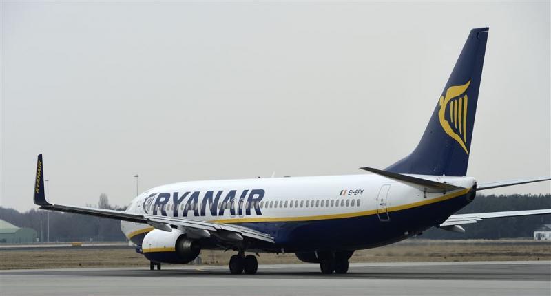 Ryanair breidt uit, maar niet op Schiphol