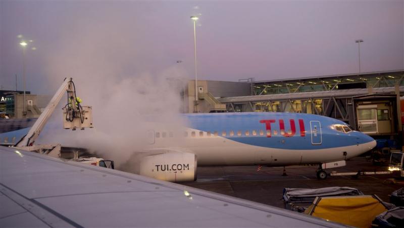 TUI-toeristen na noodweer op bestemming