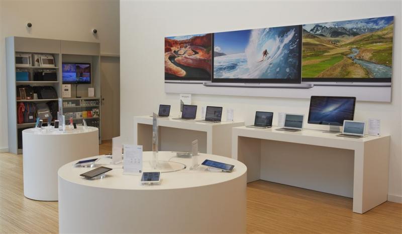 'Apple definitief uit displayhandel'