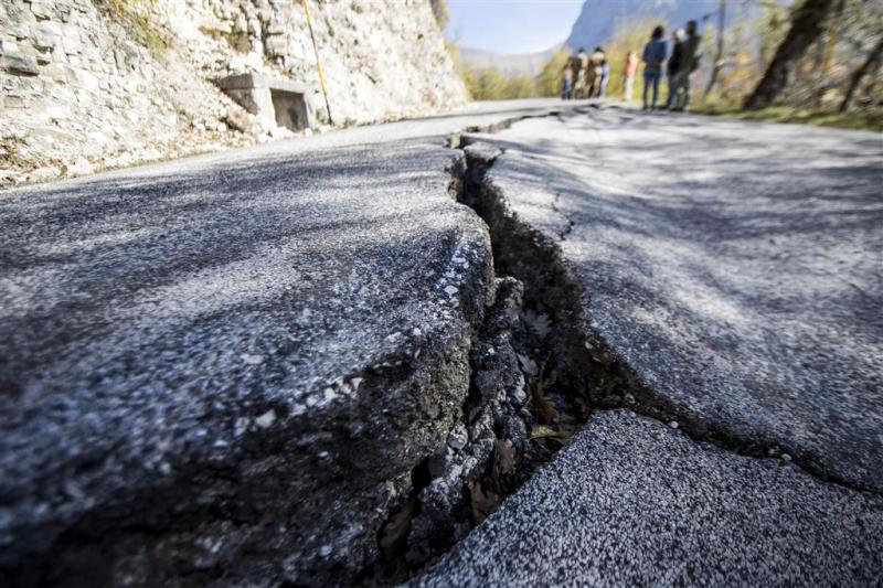 Weer aardbeving in Midden-Italië