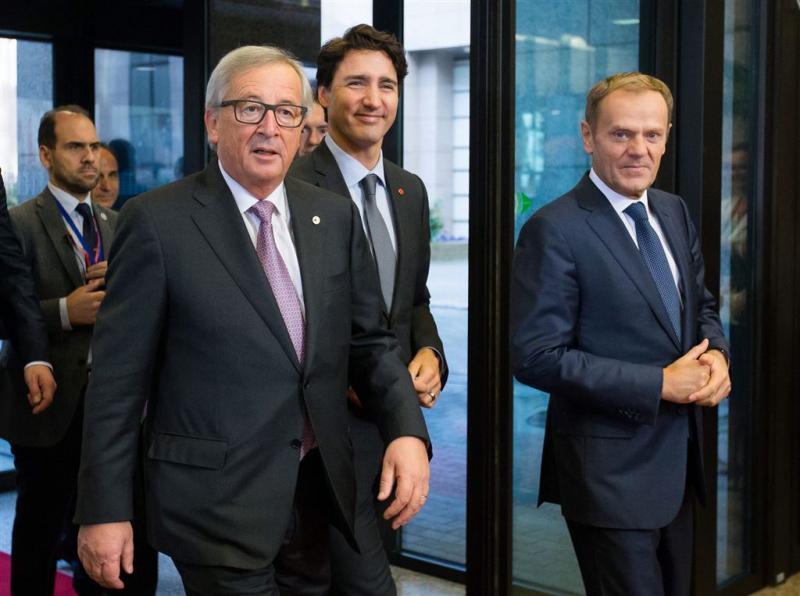 EU en Canada tekenen CETA-verdrag