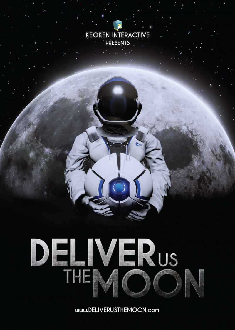 Deliver Us The Moon - Flyer
