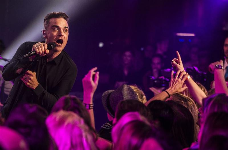 Robbie Williams snapt ergernis van Bieber