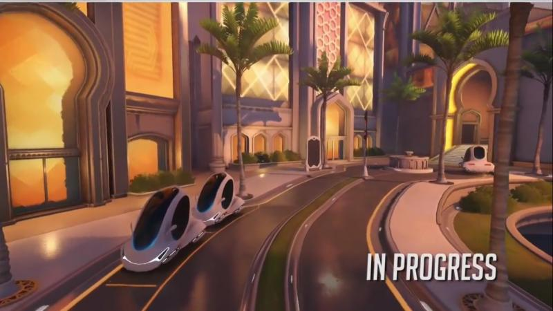 Overwatch Oasis map (Foto: Blizzard)
