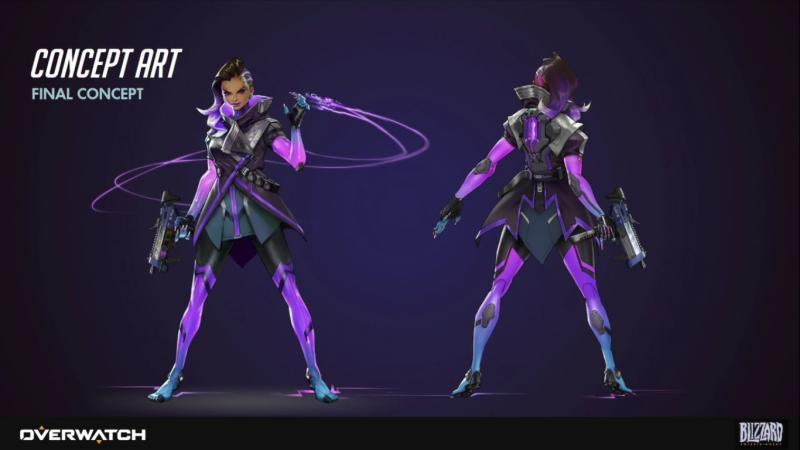 Overwatch Sombra artwork (Foto: Blizzard)
