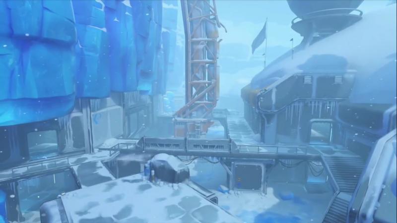 Overwatch Watchpoint Antartica (Foto: Blizzard)