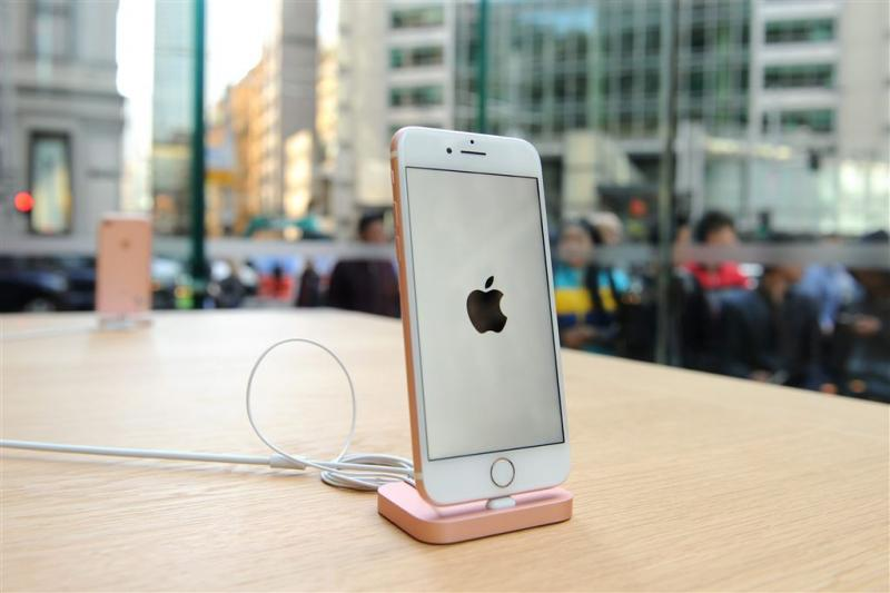 'Apple komt met matwitte iPhone 7'