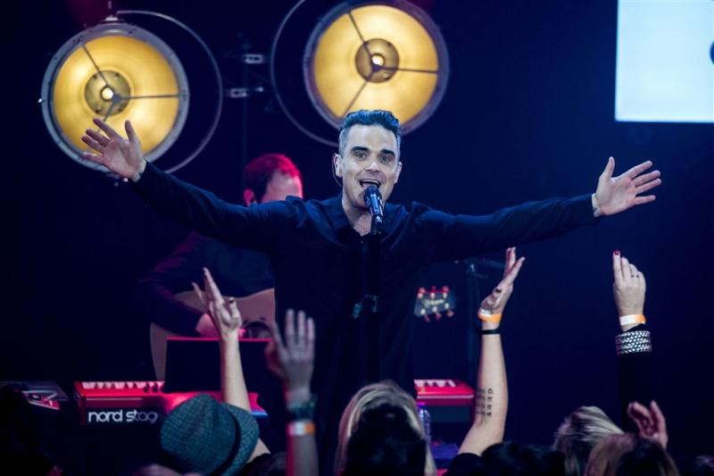 Robbie Williams in juli naar Goffertpark