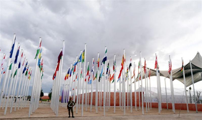 Klimaatconferentie in Marokko begonnen