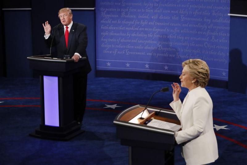 Peilingen: voorsprong Clinton gehandhaafd