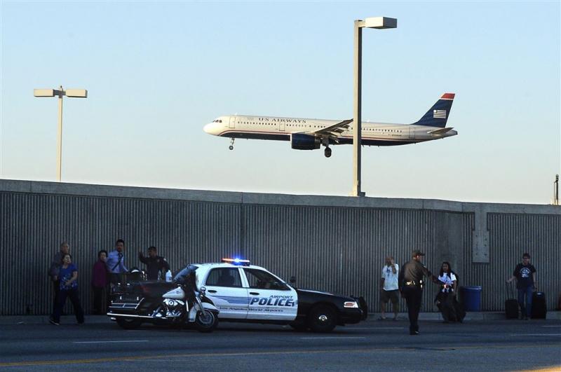 Levenslang voor schutter vliegveld LA