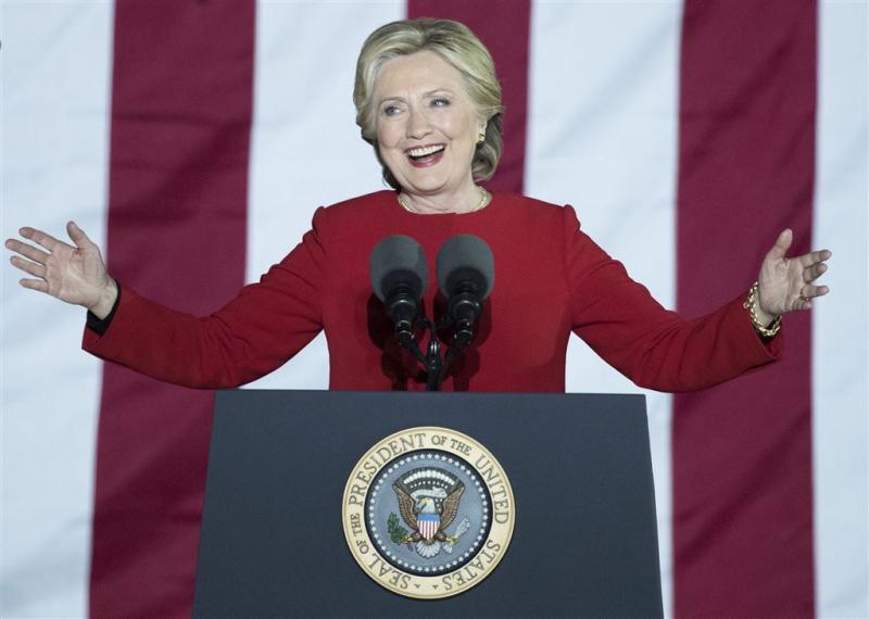 Clinton heeft meer kiezers dan Trump