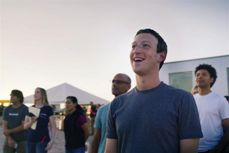 Fortune roept Zuckerberg uit tot zakenman 2016