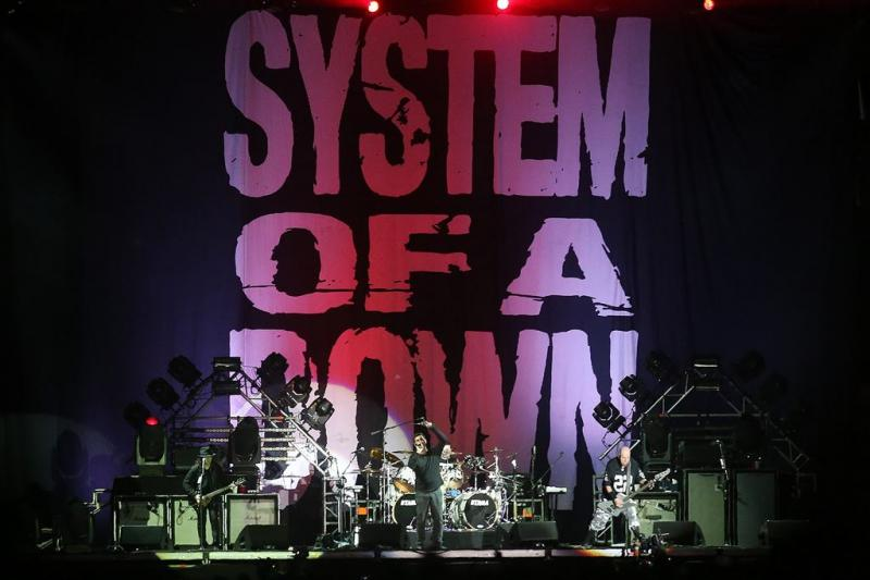 System of a Down naar Pinkpop