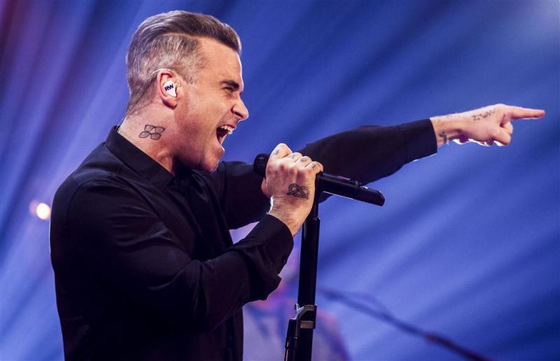 Robbie Williams scoort met nieuw album