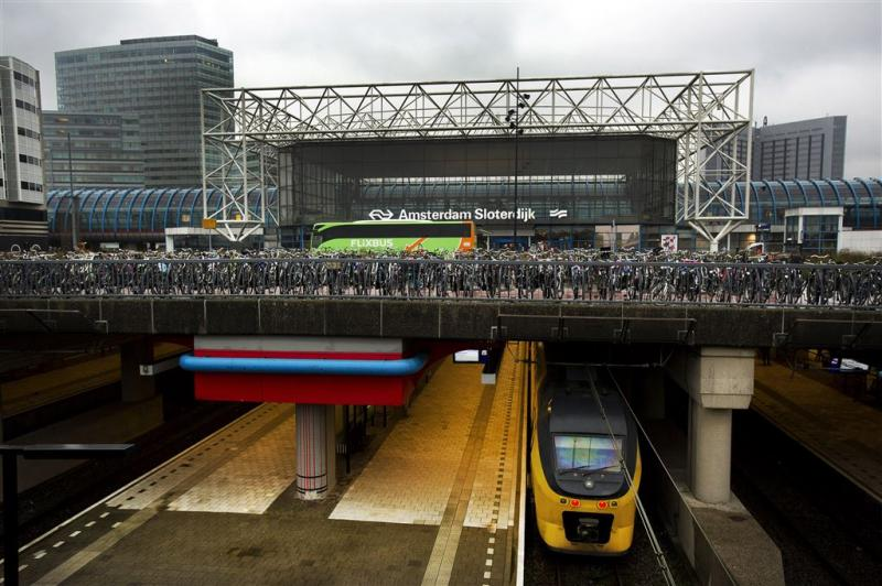 Storing treinverkeer Amsterdam