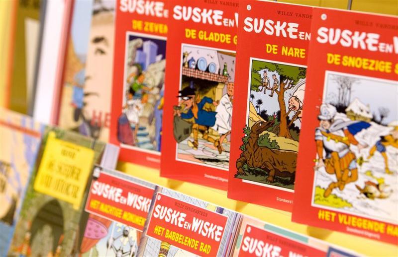 Suske en Wiske-strips brengen 125.000 euro op