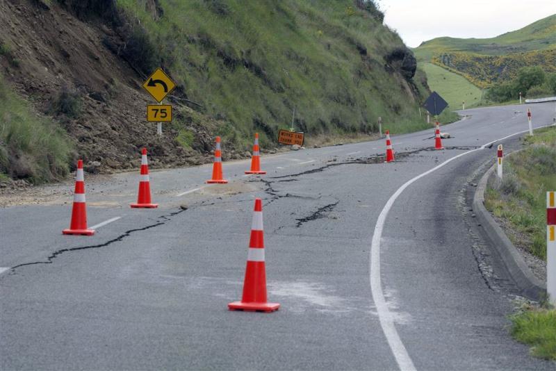 Dam gebroken na flinke naschok Nieuw-Zeeland
