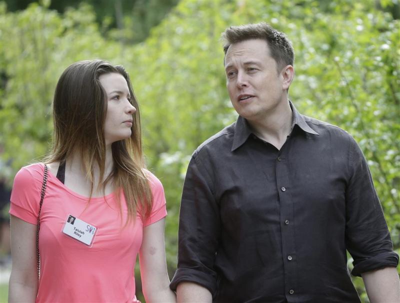 Elon Musk en Talulah Riley weer gescheiden