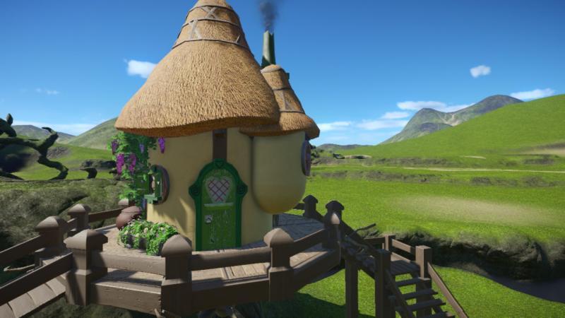 Dreamland Treehouse, door DeLadySigner