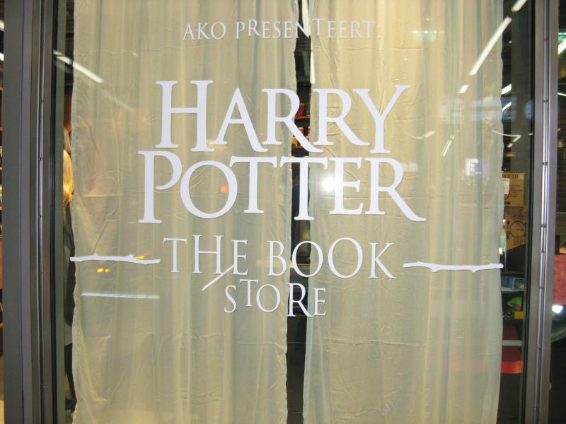 Opening van de Harry Potter Pop Up Bookstore (Foto: DJMO)