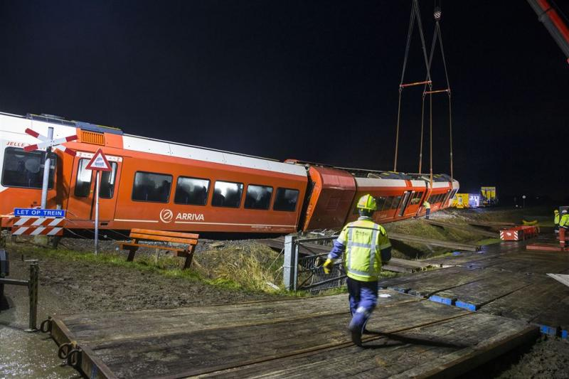 Treinverkeer Winsum maandag hervat