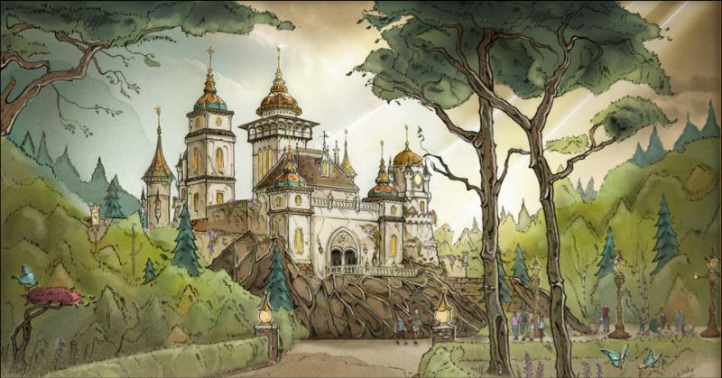 Symbolica: Paleis der Fantasie (aankomende Efteling-attractie)