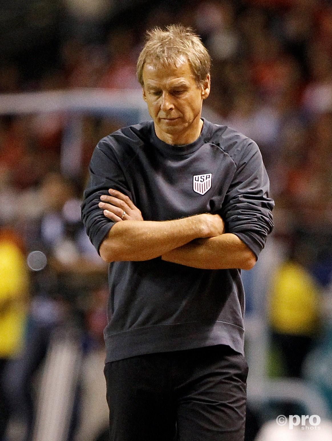 Jurgen Klinsmann ziet zijn ploeg afgaan tegen Costa Rica. (PRO SHOTS/Action Images)