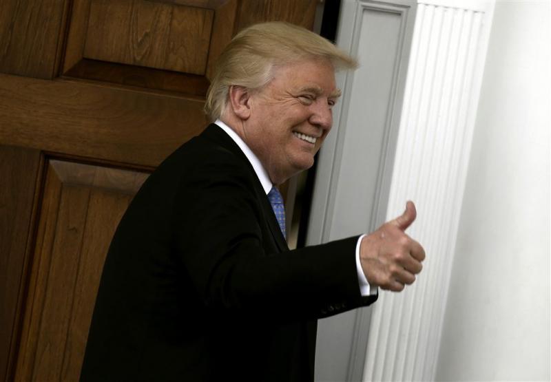 Trump zegt verkiezingsbeloften waar te maken