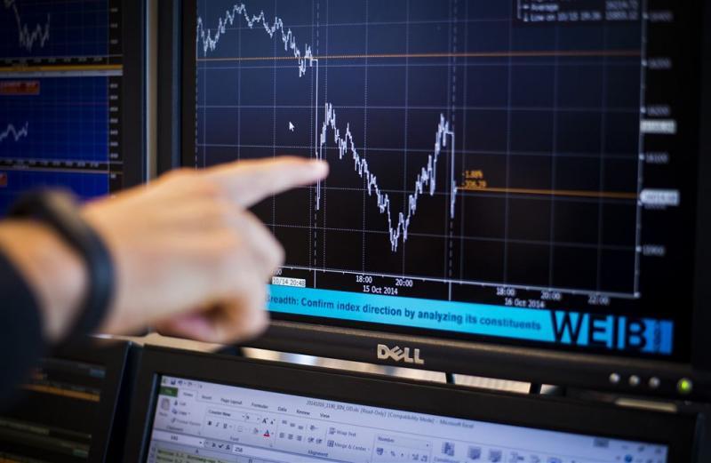 Vertrouwen beleggers in economie daalt