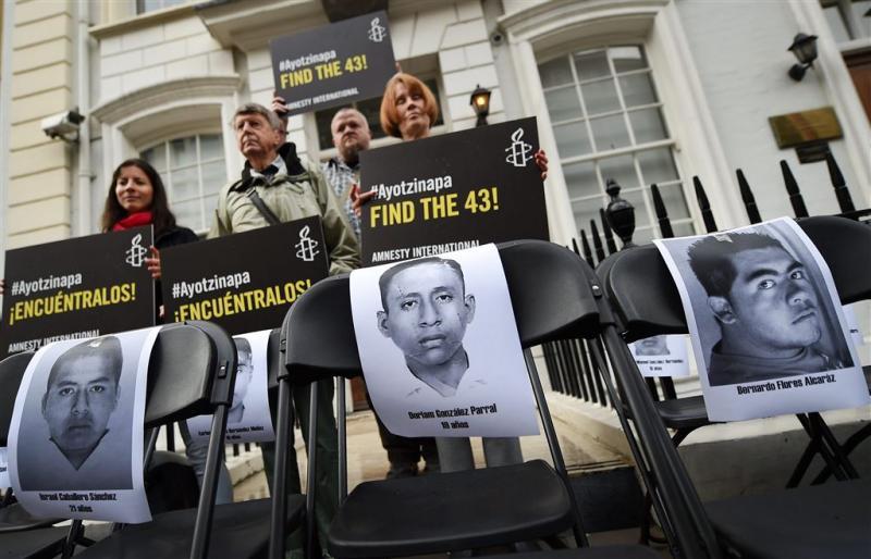 'Rol leger Mexico bij verdwijning studenten'