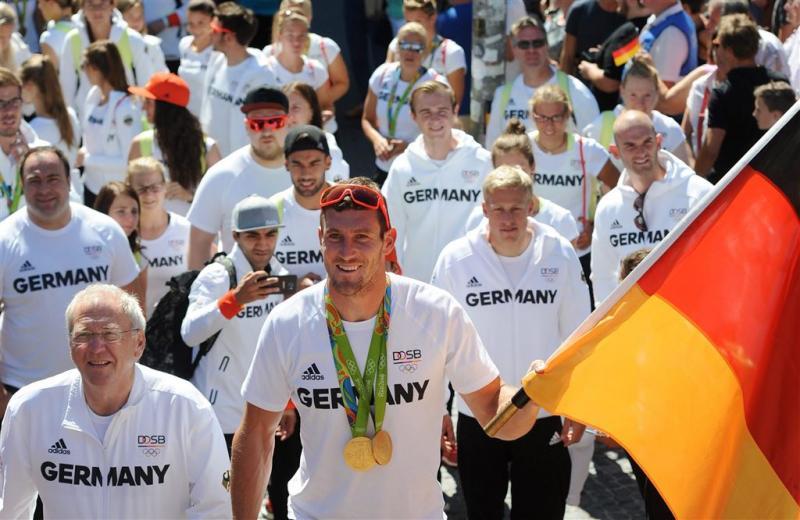 Geen Olympische Spelen op Duitse zenders