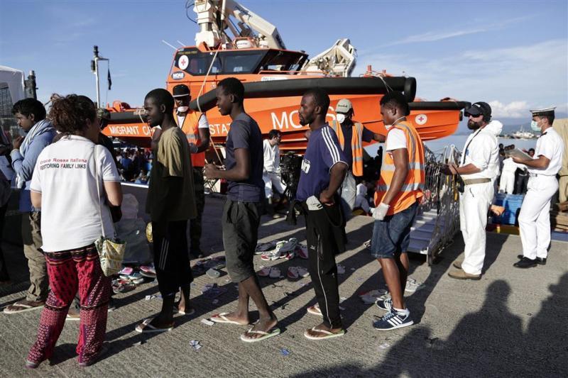 Migrantenstroom breekt records in Italië