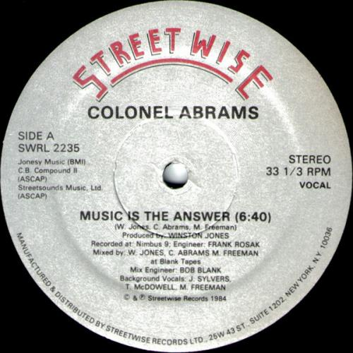Music Is The Answer (1984)