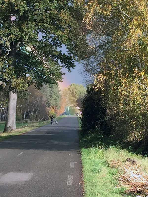 Regenboog bij Paddo. (Foto: Paddo)
