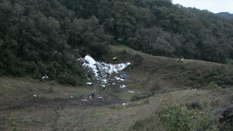 Zwarte dozen ramptoestel Colombia gevonden
