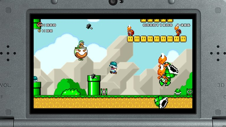 Super Mario Maker 3DS Gameplay