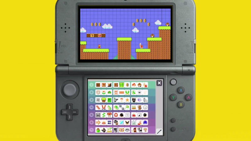 Super Mario Maker 3DS Builder