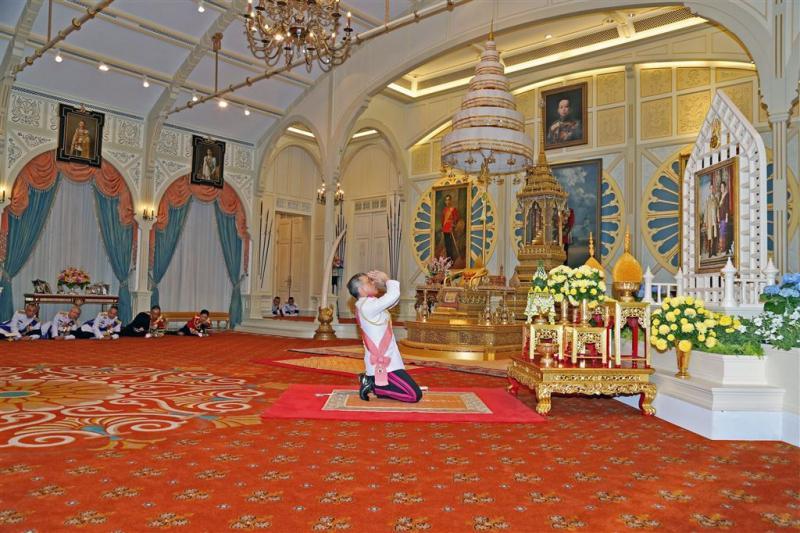 Thailand heeft na 70 jaar nieuwe vorst