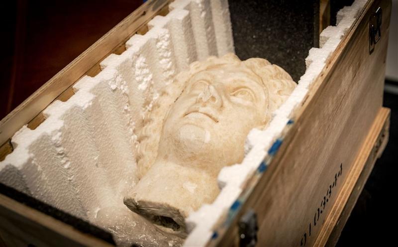 Gestolen Italiaans beeld duikt op in Nederland
