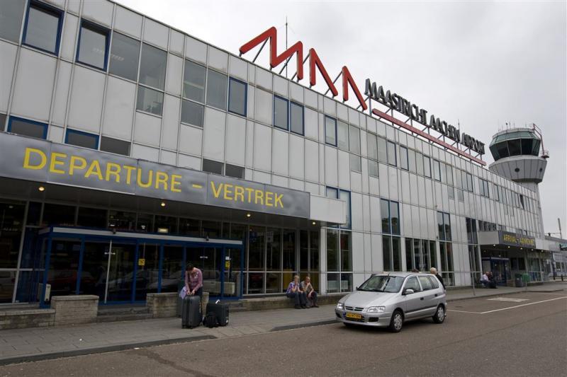 Zwaar luchtverkeer op Maastricht Airport