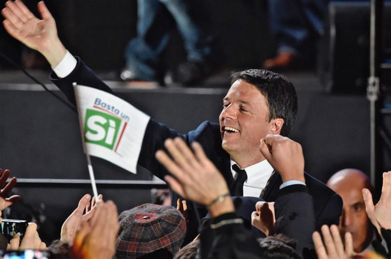Renzi doet laatste oproep