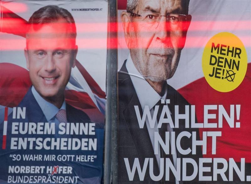 Fel debat Oostenrijkse presidentskandidaten