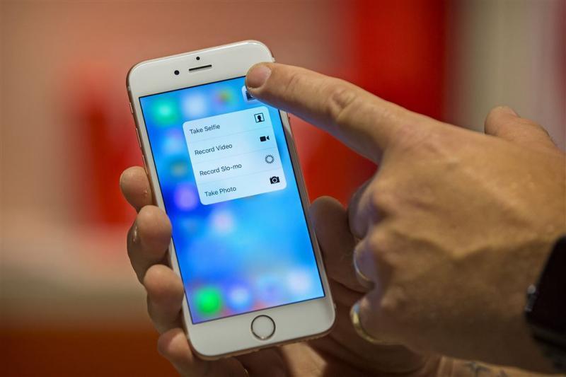 Deel uitvallende iPhone 6s te lang in lucht