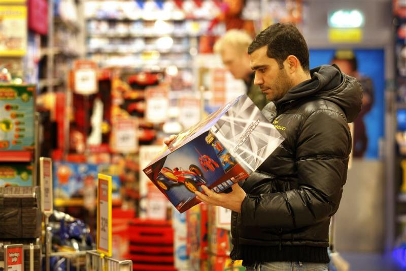 Speelgoedwinkels flink in de verdrukking