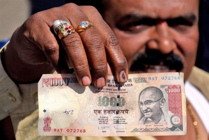 Modi: geen spijt van schrappen bankbiljetten